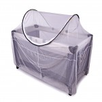 Pop up Cot mosquito net close