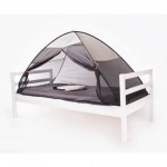 D1014 - Deryan Single Bed Tent - Mosquito Net - POP UP grey - Image 2 600x480